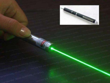 laser cu lumina verde