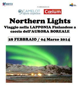 aurora polară în Laponia- 2013